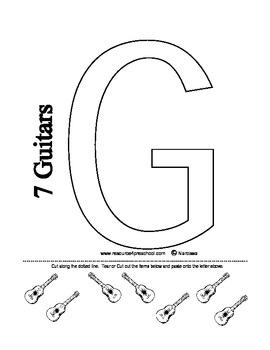 Letter G - BASIC Alphabet Curriculum for Preschool and Kindergarten