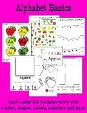 Letter A - BASIC Alphabet Curriculum for Preschool and Kindergarten - core