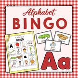 Letter A Bingo Game