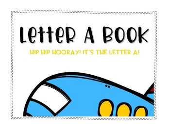 Letter A Book