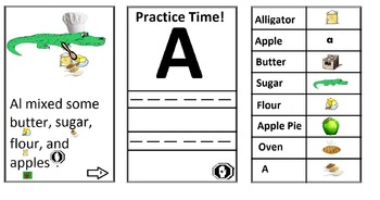Letter A Book & Worksheet