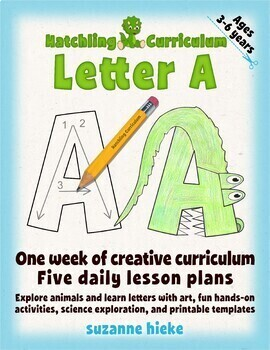 Letter A Bundle: 1 Week Of Complete Curriculum Lessons