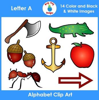 Letter A Clip Art Set