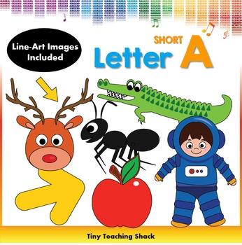 Letter A Clip Art (Short A)