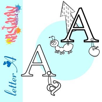 Letter A Clip art