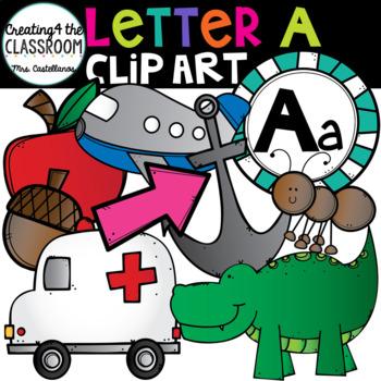 Letter A Clipart {Alphabet Clip art}
