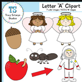 "Letter ""A"" Clipart Set {Tracy Sztanya Studios}"