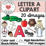 Letter A Alphabet Clipart by Clipart That Cares
