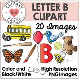 Letter B Alphabet Clipart by Clipart That Cares