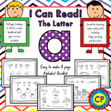 Letter A - I Can Read Booklet - for Early Reading Skills