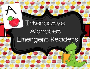 Letter A Interactive Emergent Reader