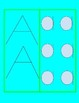 Letter A Lesson Plan for Mel's Montessori Moms at Home- Includes Playmat