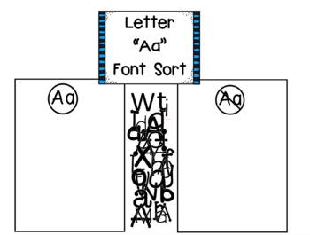Letter A - Letter Study Smartboard Pack