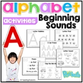 Letter A, Letter of the week preschool toddlers activity pack