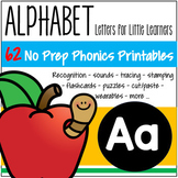 Alphabet A Phonics Recognition, Sound, Tracing & Craftivities Letter of the Week