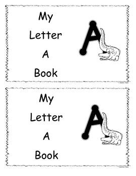 Letter A Little Reader/Book