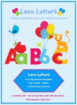 Letter A - © Love Letters - A Phonics/Reading Program