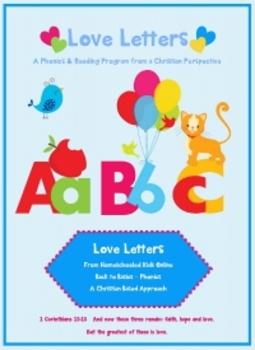 Letter A - © Love Letters - A Phonics/Reading Program