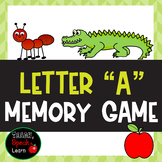 Letter A Memory Game