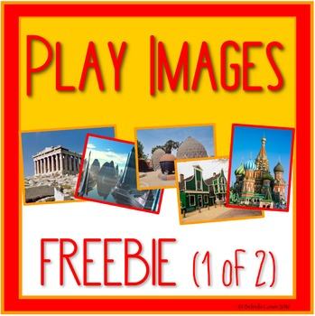 FREE Images for Distance Learning Play: Construction, Small World & More