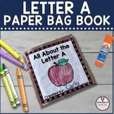 Letter A Paper Bag Book