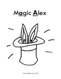 """Short A Phonics Read Aloud: """"Magic Alex"""""""