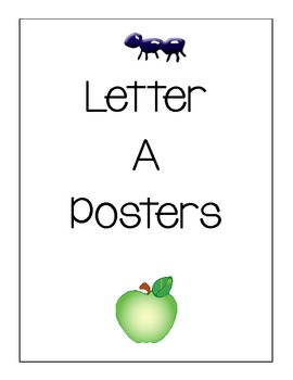 Letter A Posters