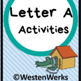Letter -A- Practice Activities Print and Go