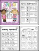Math Spring Pack for Kinders (FREE!)