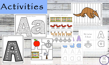 Letter A Printable Pack