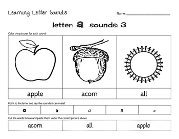 Letter A: Quick review