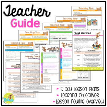 """Letter A Story Book """"5 Red Apples"""""""