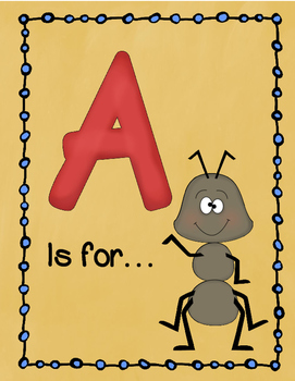 Letter A Story and Writing Practice