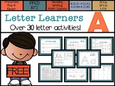 Letter Learners: Letter A