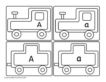 Letter A Train