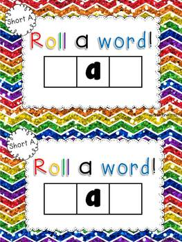 Vowel Activities for Short A and Long A