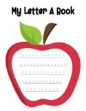 Letter A Workbook for Preschool