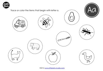 Letter A Activities and Worksheets