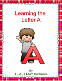 Letter A Worksheets and Ideas