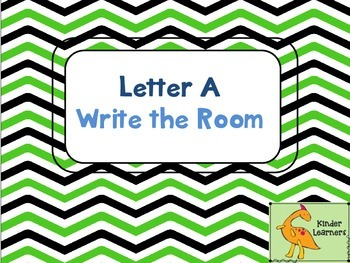 Write the Room Letter A