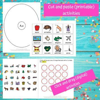 Letter A-Z Complete Bundle Unit for Special Education