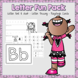 Letter A-Z Fun Pack (Letter Daubing, Letter Tracing, and Formation Practice)