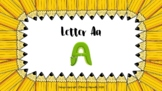 Letter A a PowerPoint Show