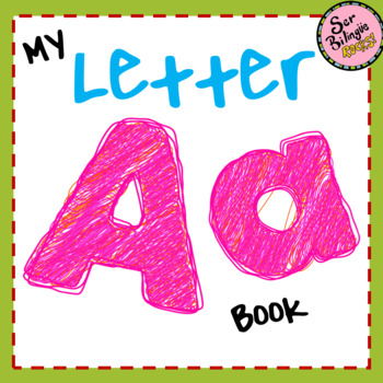 Letter A booklet