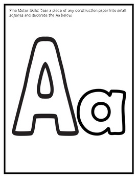 Letter A from the Mega Bundle
