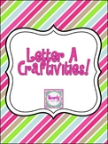 Letter A {long and short} Craftivity!