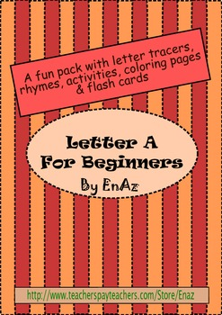 Letter A pack: For beginners