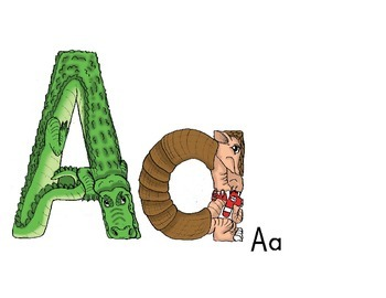Letter A story and Poster