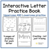 Letter ABC Interactive Practice Book