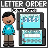 Letter Order Boom Cards | Winter Boom Cards